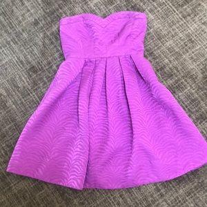 Strapless Rebecca Taylor Dress